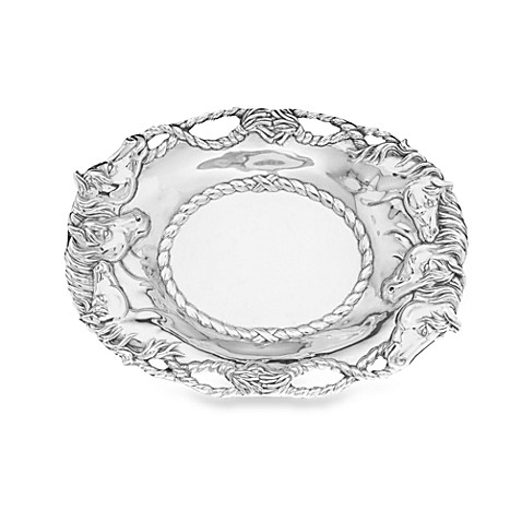 Arthur Court Designs Horse Oval Tray