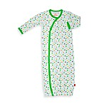 Magnificent Baby Green Stars Gown