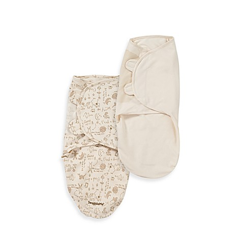 SwaddleMe® 100% Organic Cotton Adjustable Bunny Infant Wrap by Summer Infant®