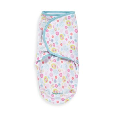 SwaddleMe® Small/Medium Adjustable Infant Wrap by Summer Infant® in Blossom