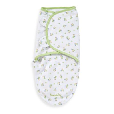 SwaddleMe® Small/Medium Adjustable Infant Wrap by Summer Infant in Caterpillars