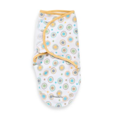 SwaddleMe® Small/Medium Adjustable Infant Wrap by Summer Infant in Small Circles