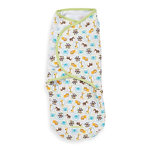 SwaddleMe® Medium/Large Adjustable Infant Wrap by Summer Infant®  in Zoo