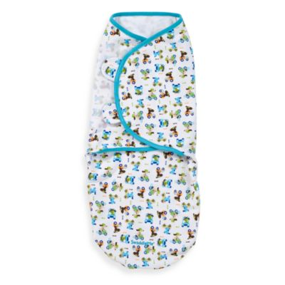 Swaddles > SwaddleMe® Medium/Large Adjustable Infant Wrap by Summer Infant®  in Dog Cars