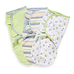 SwaddleMe® 3-Pack Small/Medium Adjustable Infant Wrap by Summer Infant in Bees