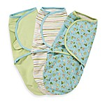 SwaddleMe® 3-Pack Small/Medium Adjustable Infant Wrap by Summer Infant in Dino Pals