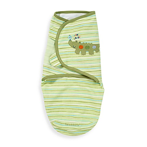 SwaddleMe® Small/Medium Adjustable Infant Wrap by Summer Infant in Alligator Embroidery