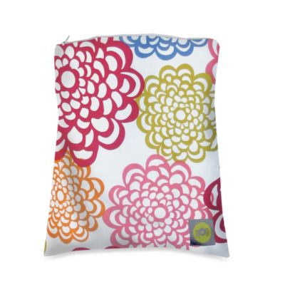 Itzy Ritzy™ Wet Happened?™ Wet Storage Bag in Fresh Bloom
