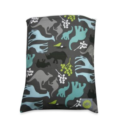 Itzy Ritzy™ Wet Happened?™ Wet Storage Bag in Urban Jungle Blue