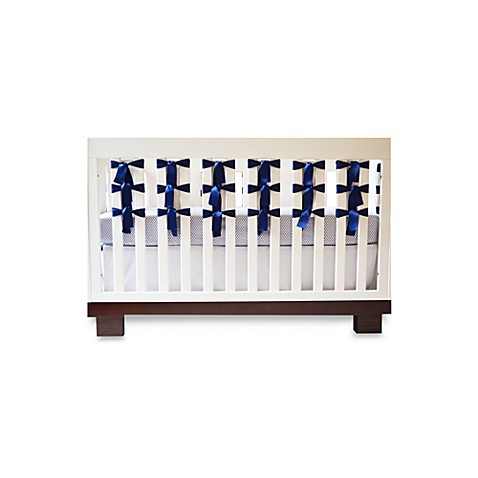 Oliver B 3-Piece Crib Bedding Set in Navy