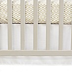 Oliver B Crib Skirt in White