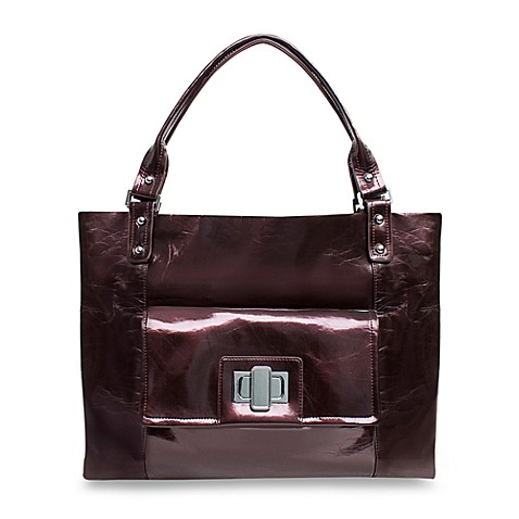 Amy Michelle™ Cosmo™ Diaper Bag in Pearlized Chocolate