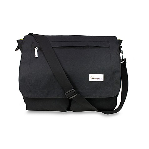 Amy Michelle™ Seattle™ Diaper Bag in Black