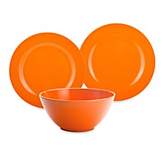 Zak! Designs® Ella Orange Dinnerware