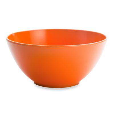 Zak! Designs® Ella Orange 6 1/4-Inch Bowl