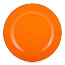Zak! Designs® Ella Orange 10 3/4-Inch Dinner Plate