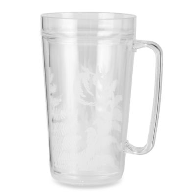 Zak! Designs® Fronds 24-Ounce Double Wall Tankard