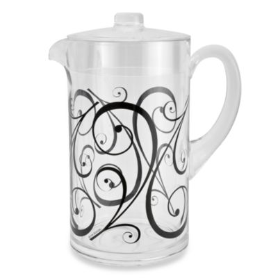 Zak! Designs® Urbana 2-Quart Pitcher with Lid