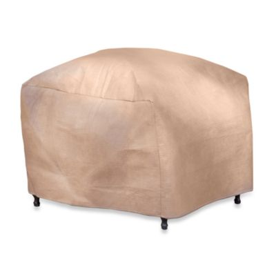 Duck Covers™ Ottoman/Side Table Cover with Duck Dome™ in 30-Inch L