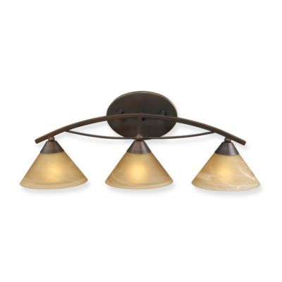 ELK Lighting 3-Light Vanity in Aged Bronze