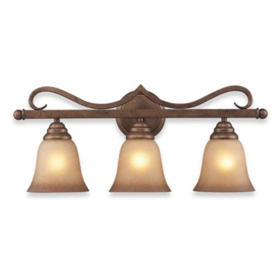 ELK Lighting 3-Light Vanity in Mocha