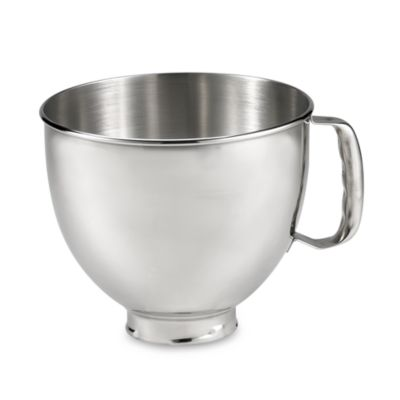 KitchenAid® 5-Quart Polished Stainless Steel Bowl with Handle