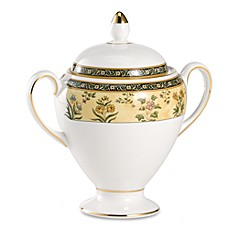 Wedgwood® India Covered Sugar Bowl