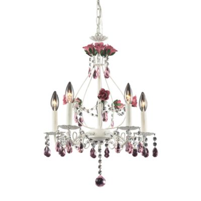 ELK Lighting 5-Light Chandelier in Rosavita