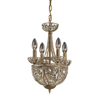 ELK Lighting Elizabethan 5-Light Chandelier in Dark Bronze