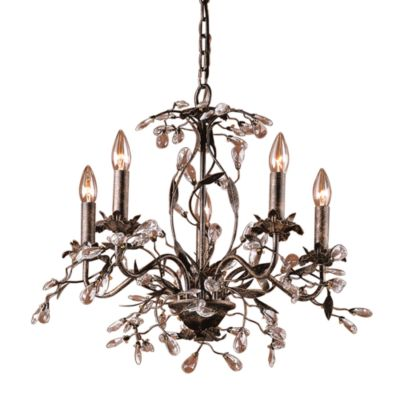 Elk Lighting Chandelier Rust