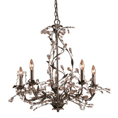 Elk Lighting 5-Light Chandelier Rust