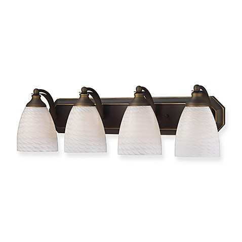 ELK Lighting 4- Light Vanity Strip in Aged Bronze