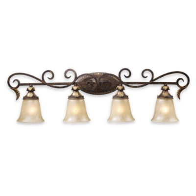ELK Lighting Burnt Bronze 4-Light Vanity Fixture