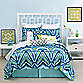 Trina Turk® Blue Peacock European Pillow Sham