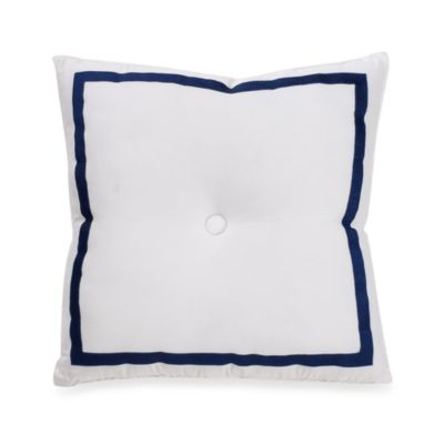 Trina Turk® Blue Peacock 18-Inch Square Toss Pillow