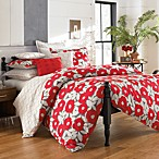 notNeutral® Red Poppy Duvet Cover Set, 100% Cotton