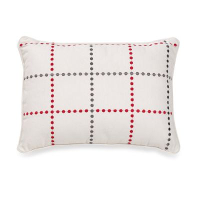 notNeutral® Red Poppy Breakfast Pillow