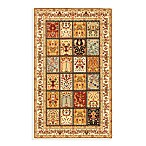 Safavieh Majesty 5-Foot 3-Inch x 7-Foot 6-Inch Room Size Rug in Multi/Cream