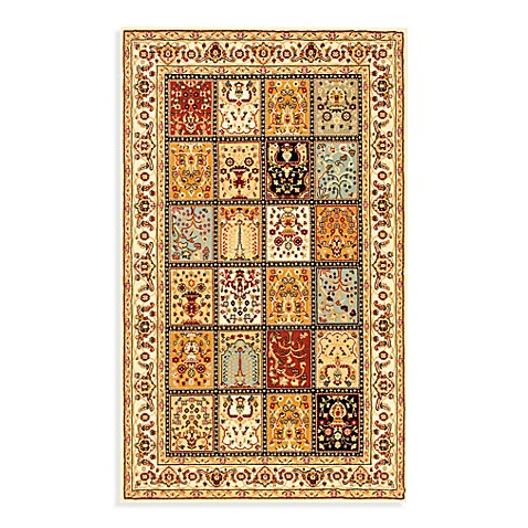 Safavieh Majesty 2-Foot 3-Inch x 12-Foot Runner in Multi/Cream