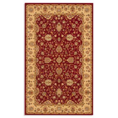 Safavieh Majesty 2-Foot 3-Inch x 12-Foot Runner in Red/Camel