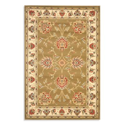 Safavieh Prescott 8-Foot 9-Inch x 12-Foot Room Size Rug in Green/Ivory