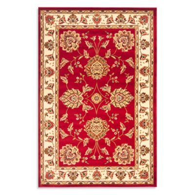 Safavieh Prescott Red/Ivory 2-Foot 3-Inch x 16-Foot Runner