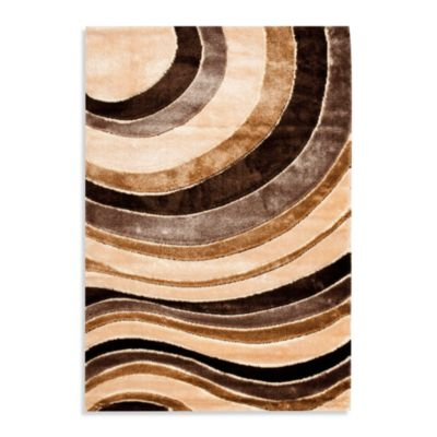 10 Brown Shag Rug