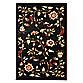 Safavieh Tobin Black/Multi 6-Foot 7-Inch x 12-Foot Room Size Rug