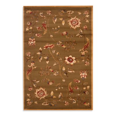 Safavieh Tobin 8-Foot 9-Inch x 12-Foot Room Size Rug Green/Multi