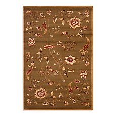 Safavieh Tobin Green/Multi 3-Foot 3-Inch x 5-Foot 3-Inch Accent Rug