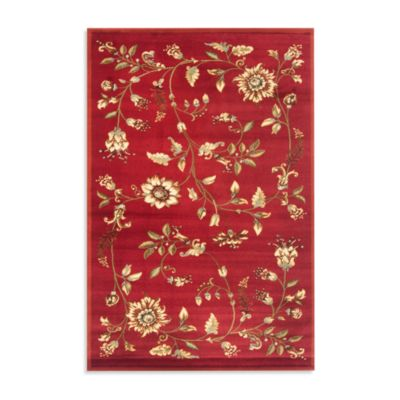 Safavieh Tobin 8-Foot 9-Inch x 12-Foot Room Size Rug in Red/Multi