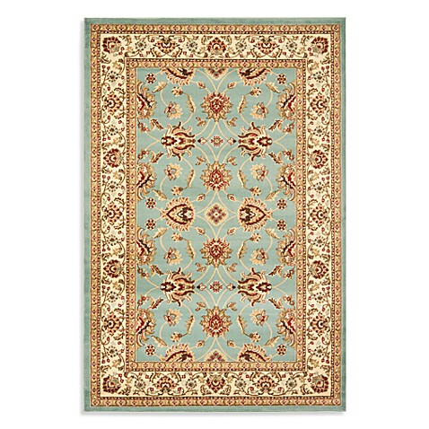 Safavieh Vanity Blue/Ivory 4-Foot x 6-Foot Accent Rug