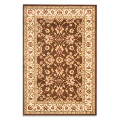 Safavieh Vanity 27-Inch x 144-Inch Runner in Brown/Ivory
