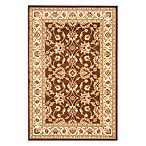 Safavieh Vanity Brown/Ivory 3-Foot 3-Inch x 5-Foot 3-Inch Accent Rug